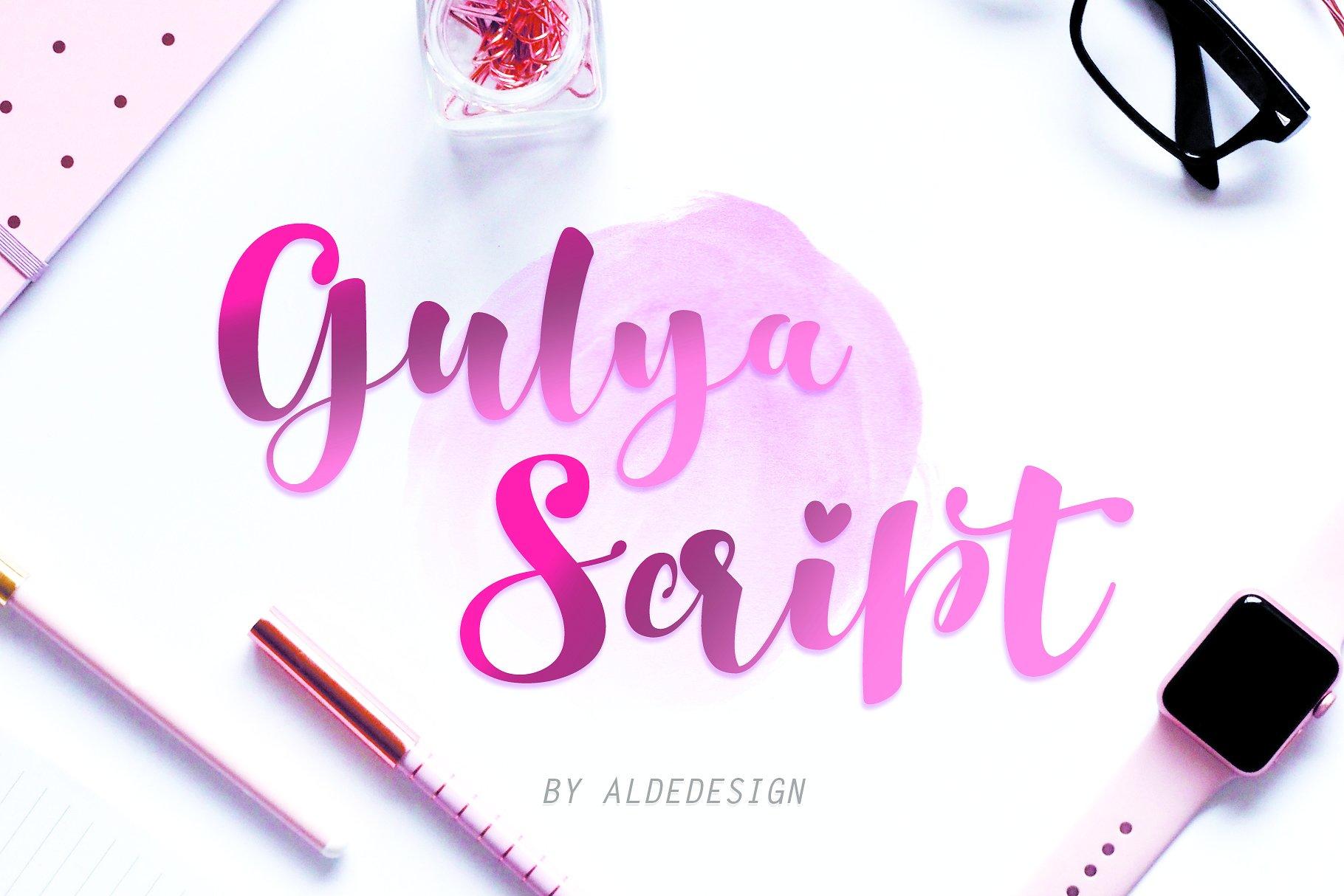 Gulya Script Font Demo