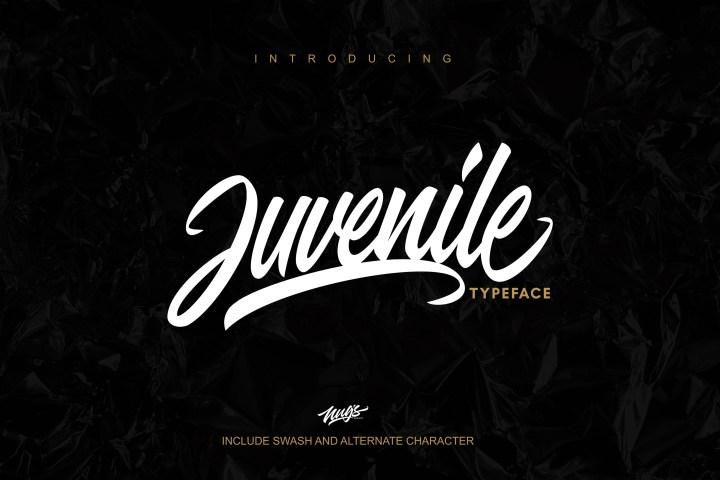 Juvenile Handlettering Typeface
