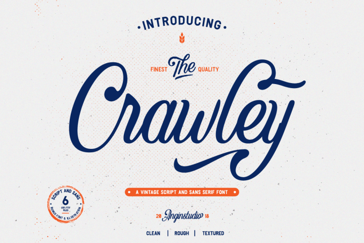The Crawley Script Demo