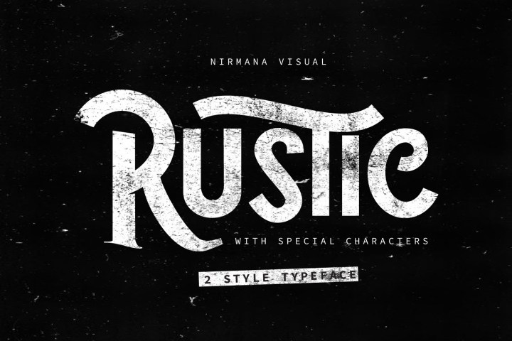 The Rustic Free Font Demo