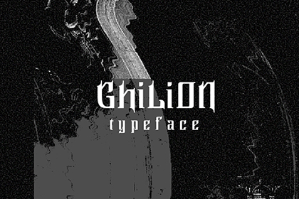Ghillion Gothic Free Font