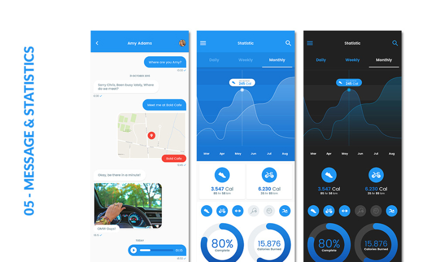 Insta Mobile Apps Free UI Kit