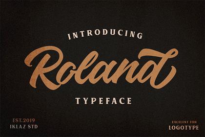 Roland Handlettering Script