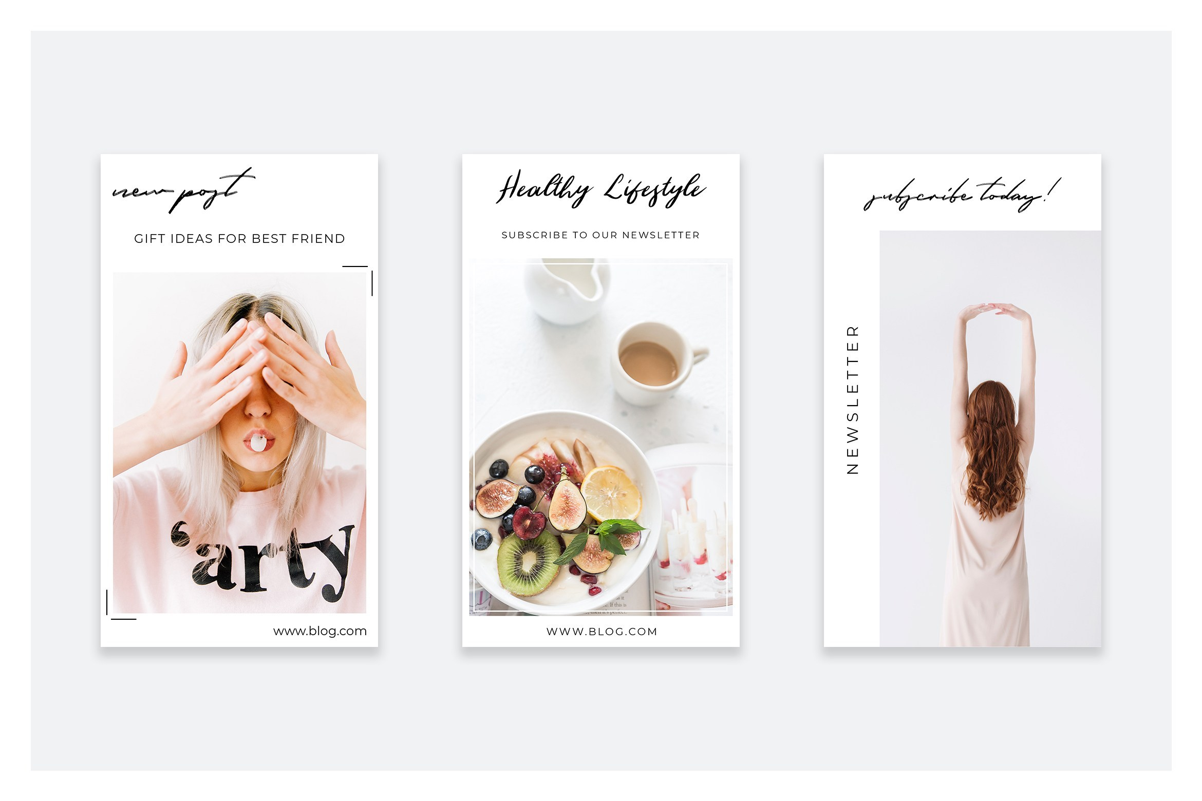 Clear Instagram Story Templates