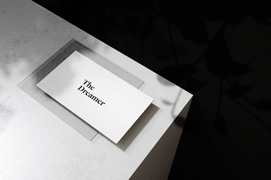 Fancy Business-Card Mockup 4