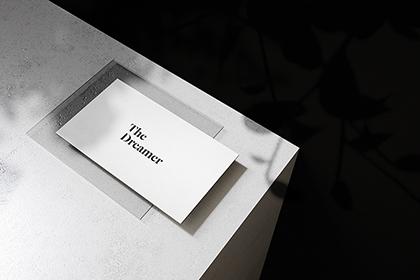 Fancy Business-Card Mockup 4