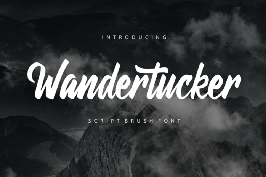 Wandertucker Brush-lettering Script