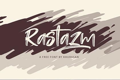 Rastazm Script Free Font