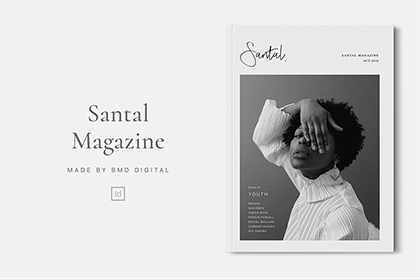 Santal - Free Magazine Editorial