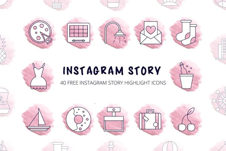 40 Instagram Highlight Icons