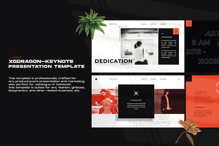 XGDragon Presentation Template