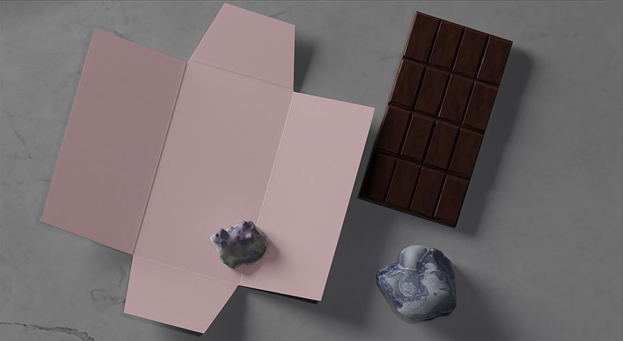 Chic Chocolate PSD Mockup