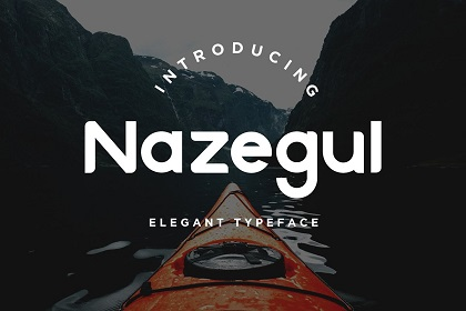 Nazegul Free Display Sans