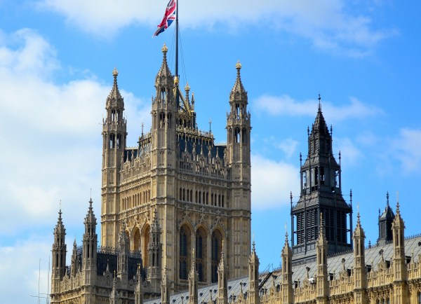 Palace Of Westminster And Big Ben Freed Time