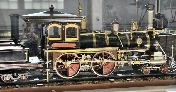 Model Steam Engine Locomotive