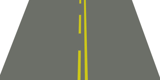 Solid yellow line on your side