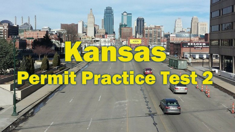 Kansas Permit Practice Test No. 2 - 25 Questions and Answers