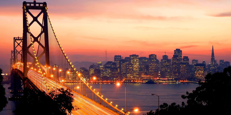 San Francisco Sunset – Copyright: Andrew Zarivny