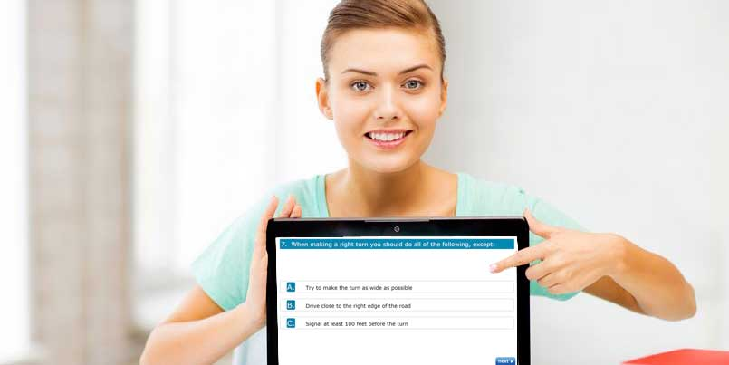 New York DMV License and Permit Test at FreeDMVTest.com  – copyright: dolgachov / 123RF Stock Photo