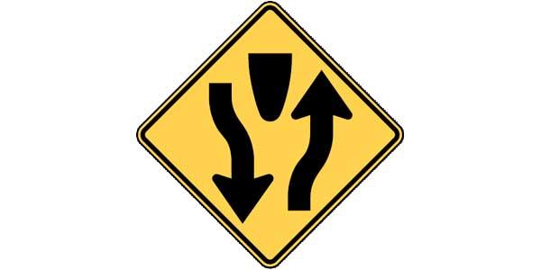 Road signs cheat sheet - 12