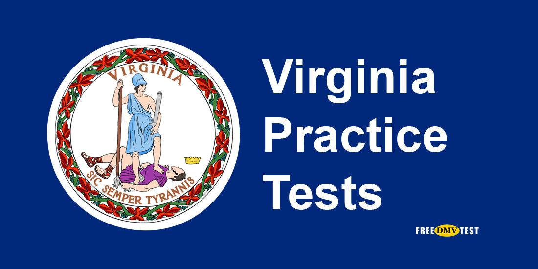 Virginia permit practice tests – free DMV tests