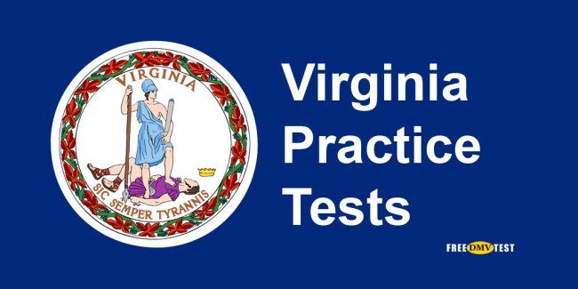Virginia permit practice tests - free DMV tests