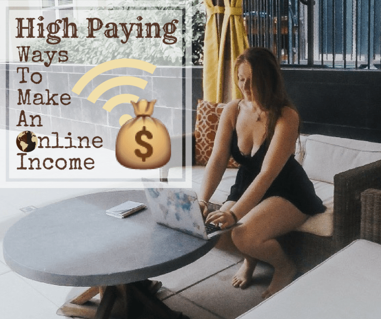 make an online income