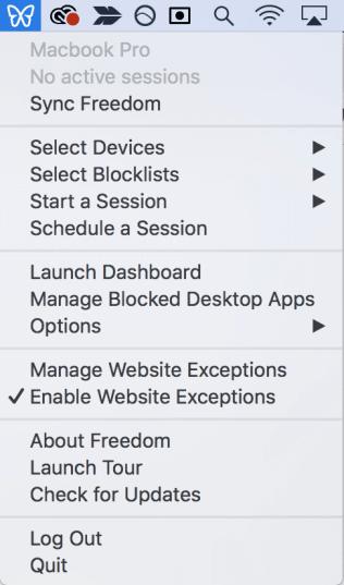 add sites to whitelist
