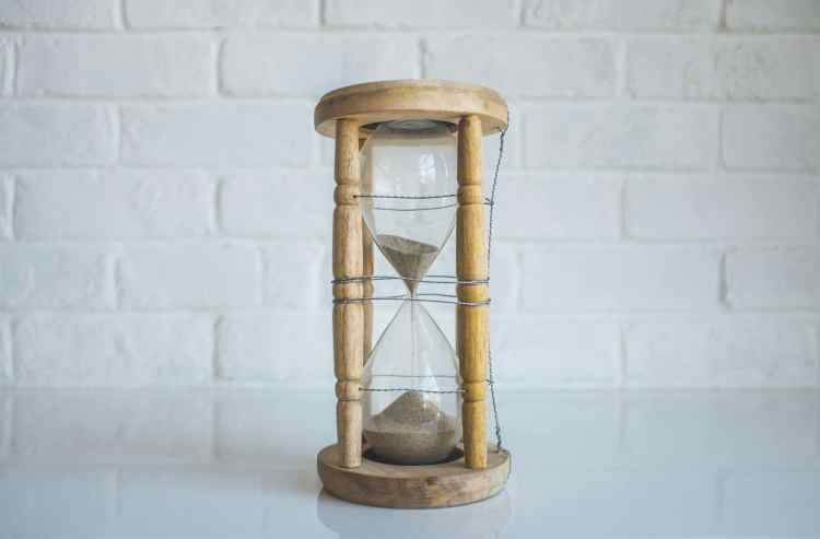 Hourglass - how will you spend your time?