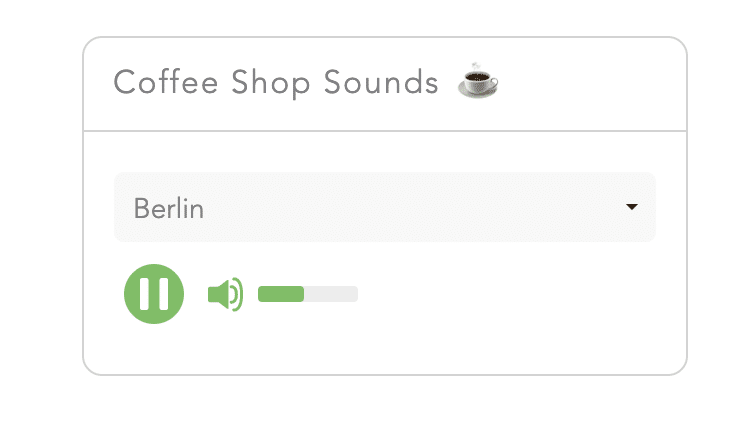 Ambient Coffee Shop Sounds