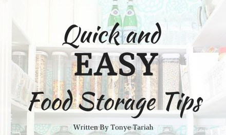 Quick and Easy Food Storage Tips