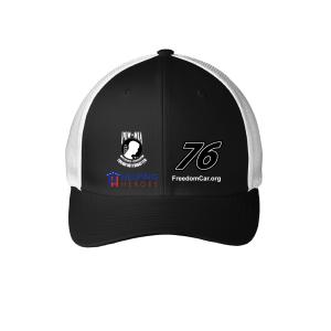 Black POW-MIA 76 Freedom Car Flex Baseball Hat