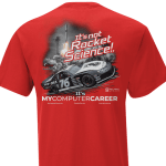 Red It's Not Rocket Science T-Shirt
