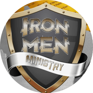 Iron Men Logo Circle