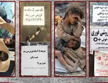 Iran poverty sell body parts in Iran