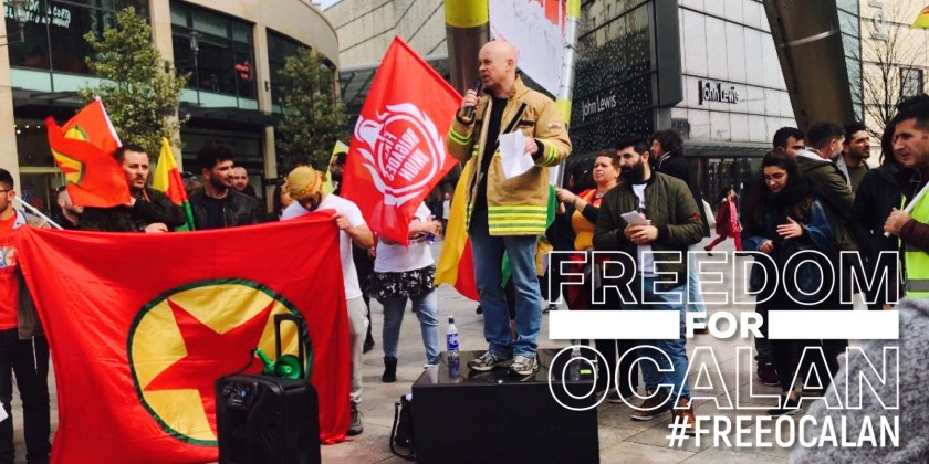 Cardiff rally shows the strength of Welsh solidarity with Kurdish cause