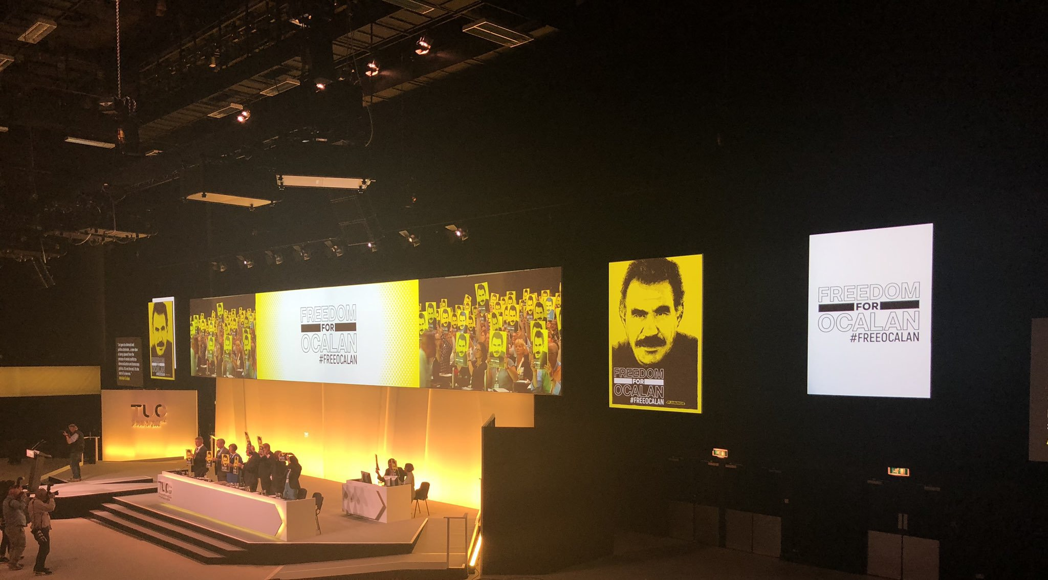 TUC Congress 2019 calls for freedom for ocalan