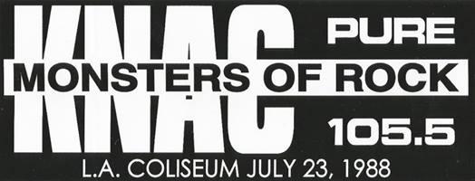 KNAC MONSTERS OF ROCK_n
