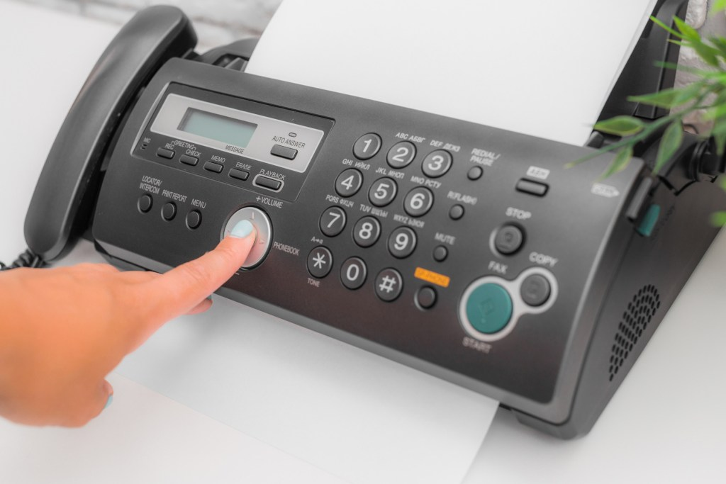 Contact Us By Fax
