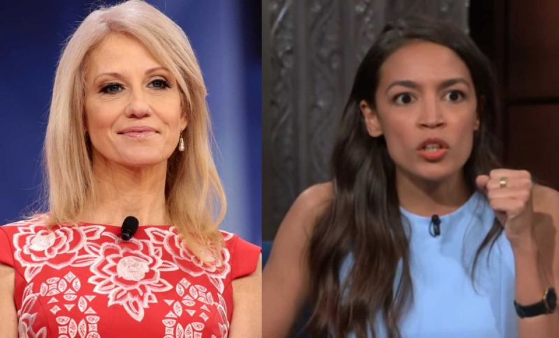 Kellyanne Conway Takes On Ocasio-Cortez And It's EPIC!