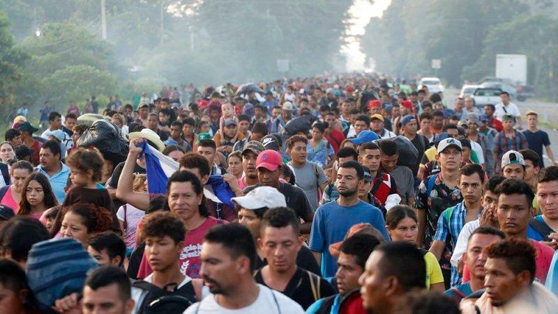 Dangerously Violent Migrants Headed To U.S. Break Down Border Gate