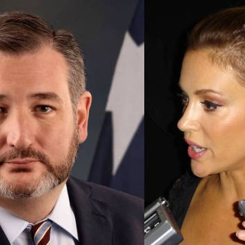 Alyssa Milano Changes Her Tune After Meeting With Ted Cruz On Gun Control and 2nd Amendment