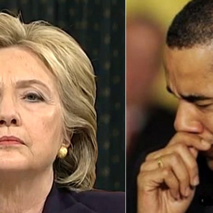 Barack and Hillary Panicking After Trump Hints of Opening Investigations for Obama and Clinton