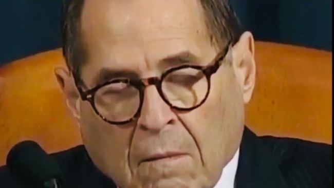Rep. Jerry Nadler Caught Sleeping On The Job During AG Barr Hearing
