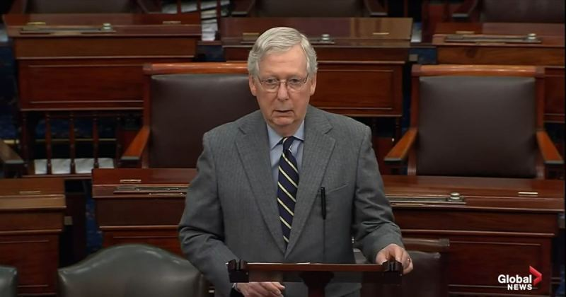 BOOM! President Trump RIPS Into Mitch McConnell in Newly Released Statement