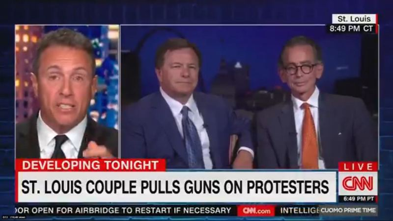 St. Louis Man Who Defended His Home From Criminals SHUTS DOWN Chris Cuomo After He Tries Making Him Out to Be the Bad Guy