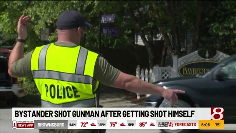 MSM Silent After Black Mass Shooter Kills Two Random Men Before Being Gunned Down by CCW Holder (VIDEO)