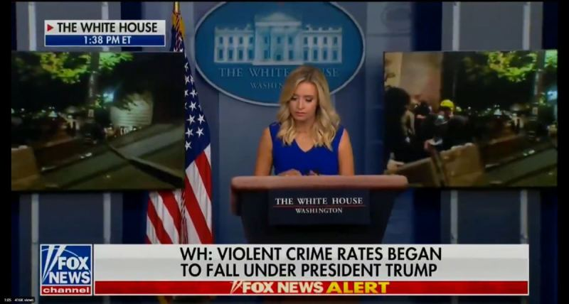 WATCH: Fox News Refuses to Air Full White House Briefing As Kayleigh McEnany Exposes Truth in Portland
