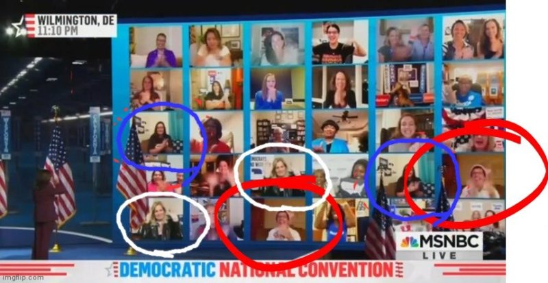 BUSTED: DNC Faked Kamala Supporters! Used Double Images of Kamala Fans After Speech