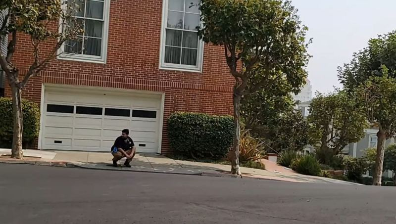 MUST SEE! Man Live Streams Himself Taking a Dump on Nancy Pelosi's Driveway in San Francisco